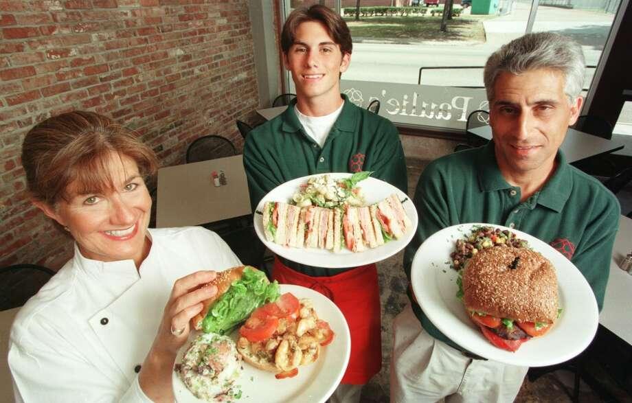 Sandwiches at Paulie\'s.
