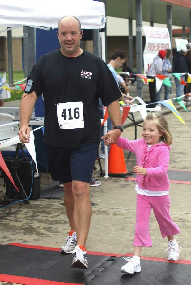 Over 300 runners participated in the Village Creek Festival 5K Run on Saturday, April 21. There were also about 70 participants in the Kids K event that followed. Photo: David Lisenby, HCN_5k