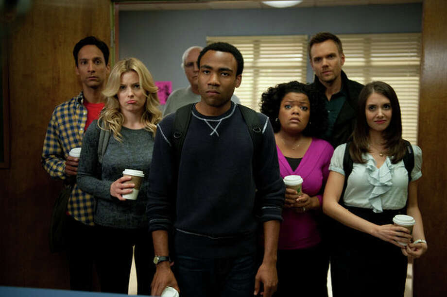 COMMUNITY: It could be the end of the road for this quirky and beloved cult sitcom. Season finale: 7 p.m. Thursday, May 9 on NBC Photo: NBC, Colleen Hayes/NBC / 2012 NBCUniversal Media, LLC