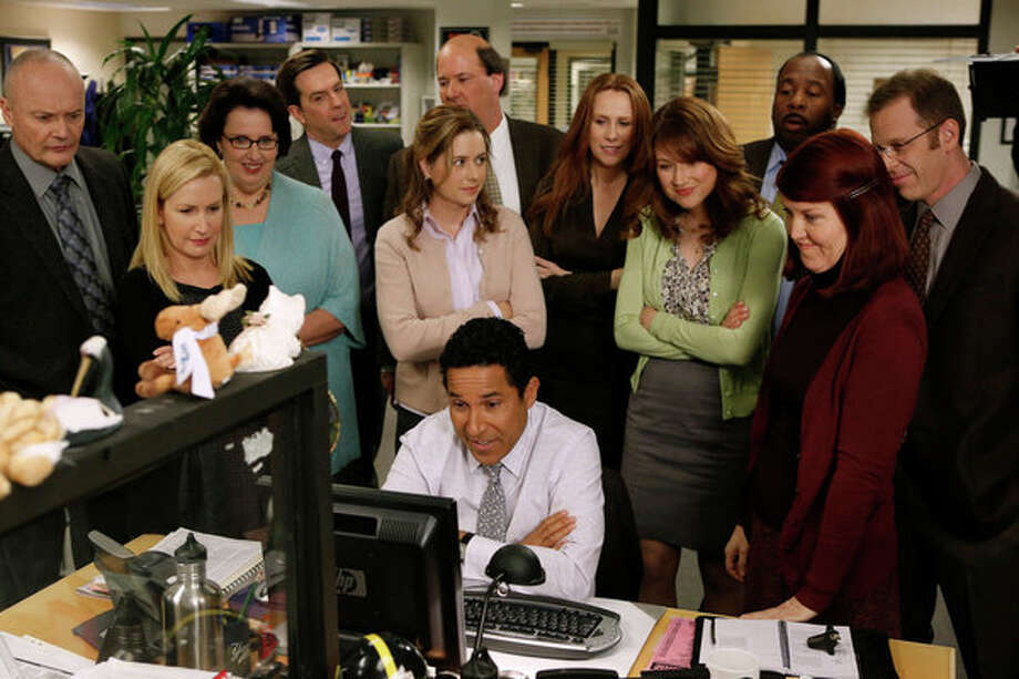 THE OFFICE: Dunder-Mifflin closes its doors as the iconic sitcom comes to what will certainly be a bittersweet goodbye. Series finale. 8 p.m. Thursday, May 16 on NBC Photo: NBC, Tyler Golden/NBC / 2013 NBCUniversal Media, LLC