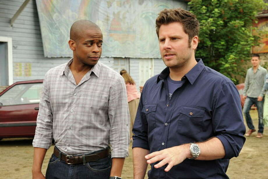 PSYCH: Season finale. 9 p.m. Wednesday, May 29 on USA Photo: USA Network, Alan Zenuk/USA Network / 2012 USA Network Media, LLC