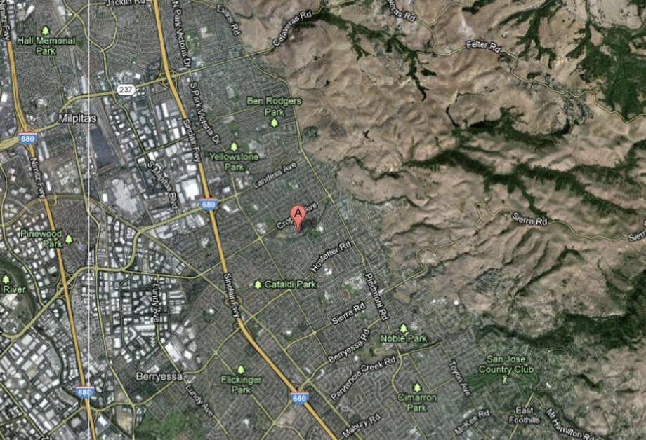 1900 block of Baywood Square in San Jose, CA Photo: Google Maps