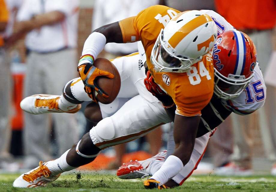 Cordarrelle Patterson Ht: 6-2, Wt: 216, 40 time: 4.42, School: Tennessee