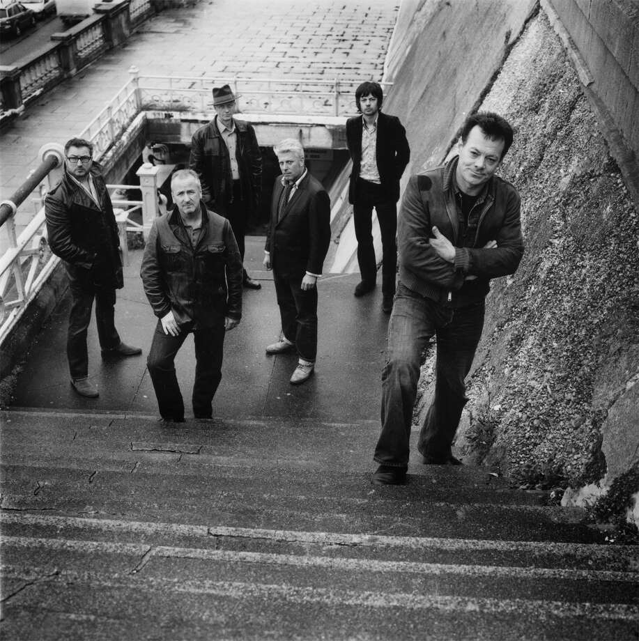 James Hunter, right, lost the vote when it came to renaming the band the James Hunter Six. Photo: Concord Music Group