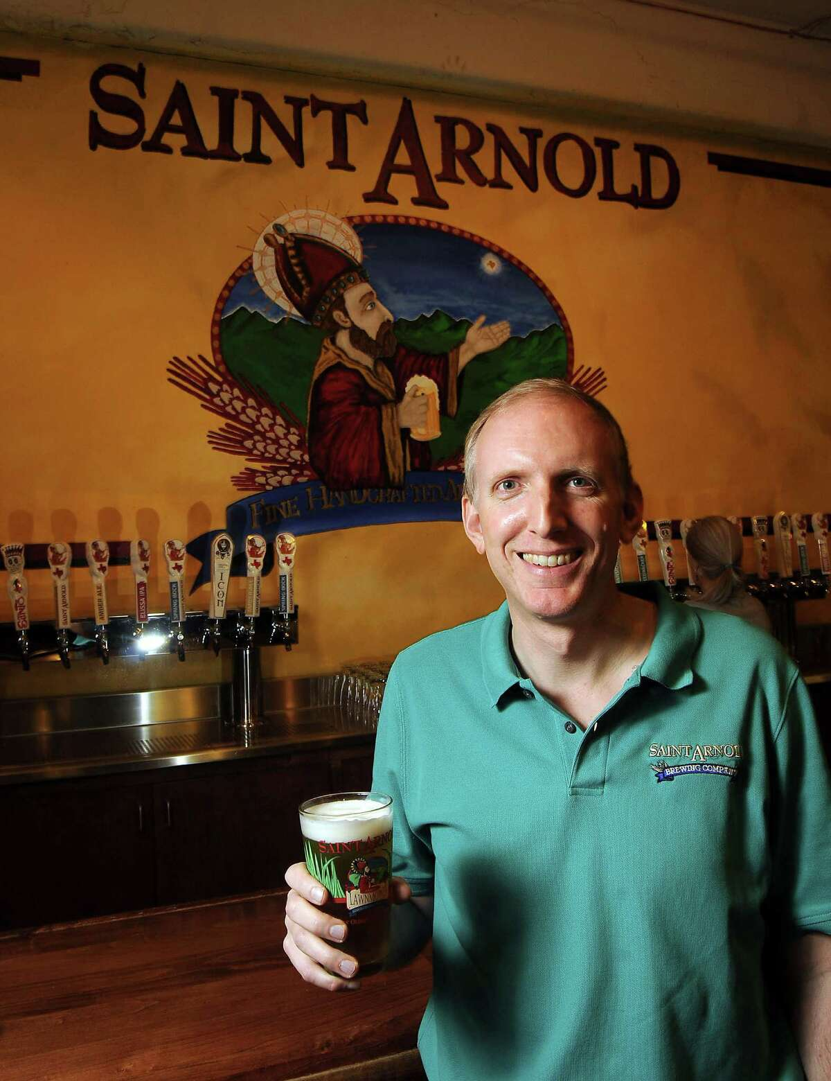 Founder Brock Wagner at the St. Arnold Brewery Tuesday April 2, 2013.(Dave Rossman photo)