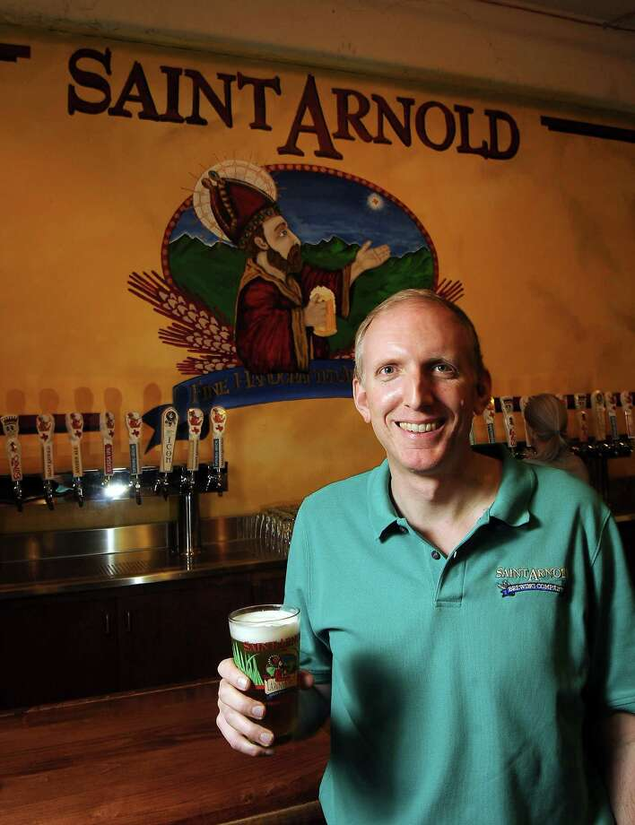 Founder Brock Wagner at the St. Arnold Brewery Tuesday April 2, 2013.(Dave Rossman photo) Photo: Dave Rossman, Freelance / © 2013 Dave Rossman