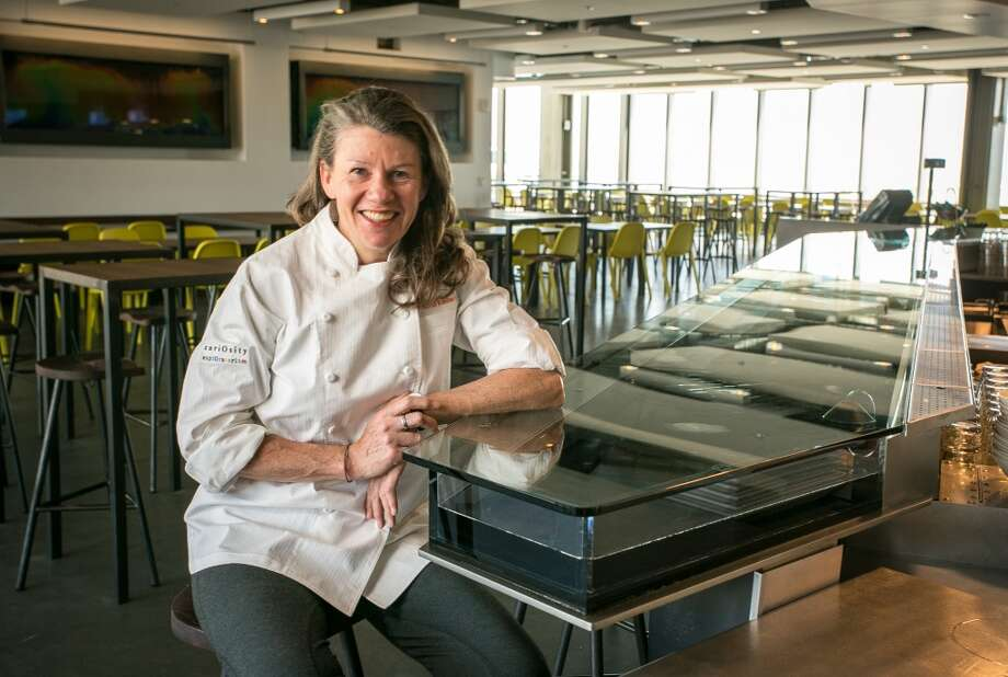 Chef Loretta Keller at the Icy Bodies bar in Seaglass.