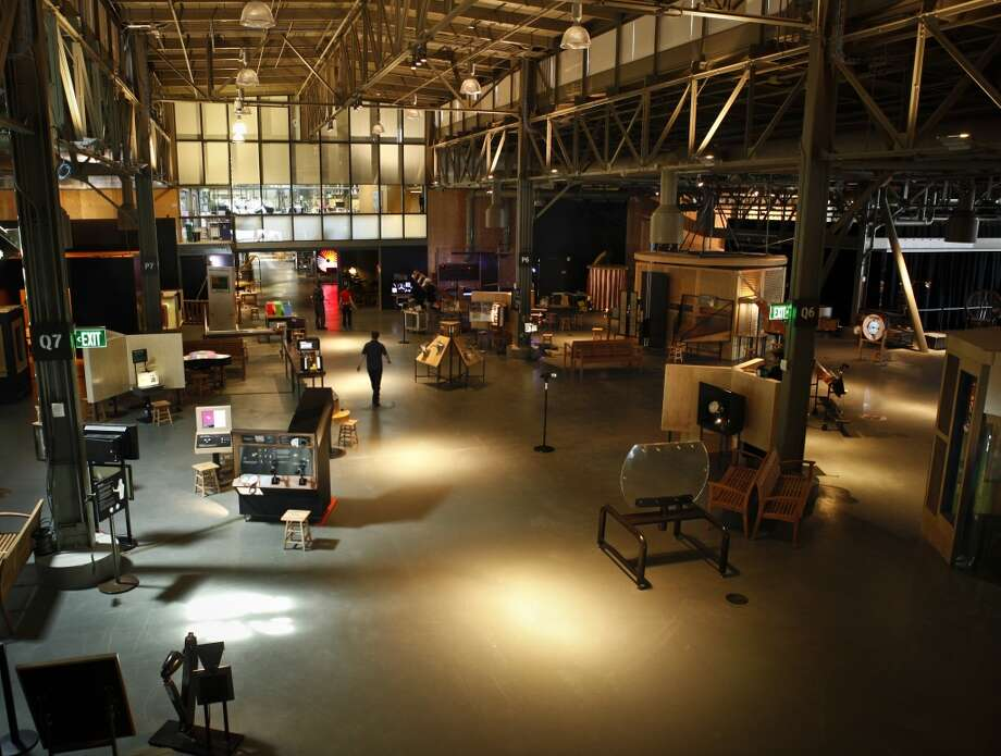 The Central Gallery of the Exploratorium.