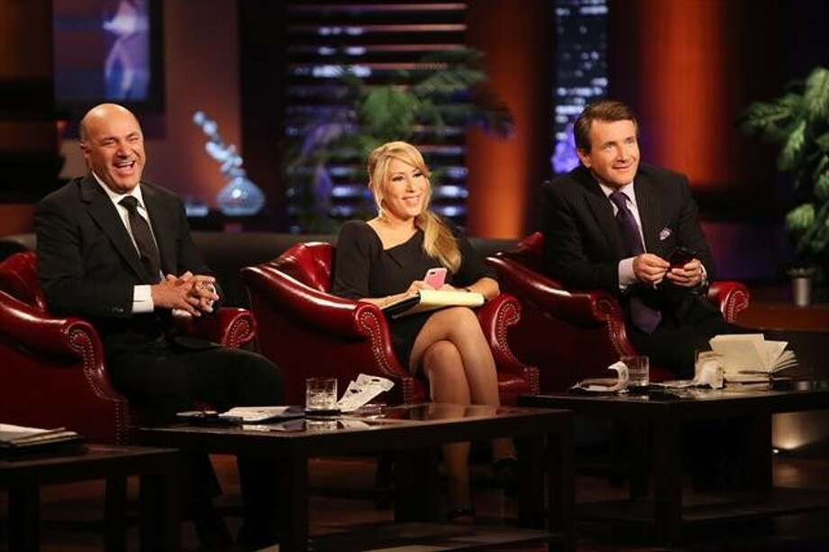 SHARK TANK: The sharks consider proposals from two Wharton grads. Season finale. 8 p.m. Friday, May 17 on ABC Photo: Adam Taylor, ABC / © 2013 American Broadcasting Companies, Inc. All rights reserved.