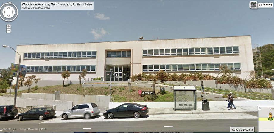 Juvenile Justice Center,  Woodside Ave. San Francisco, CA Photo: Google Maps