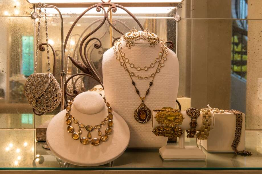 Ralph Lauren jewelry on display.