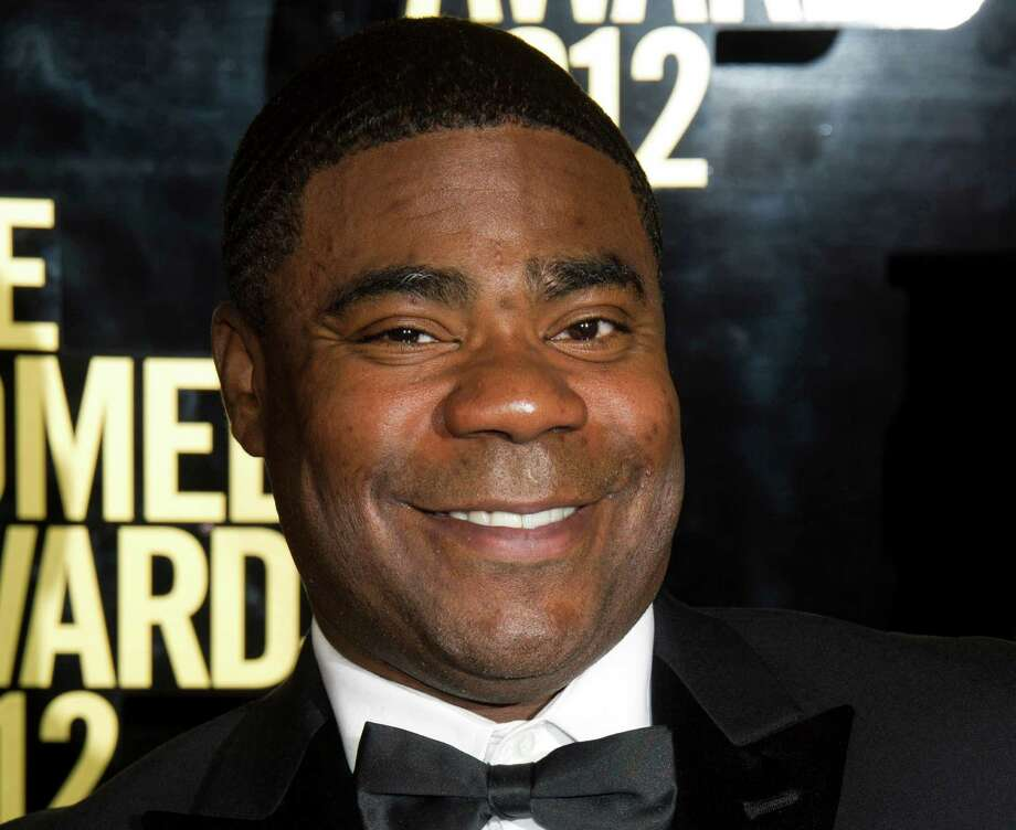 FILE - This April 28, 2012 file photo shows Tracy Morgan at The 2012 Comedy Awards in New York. Billboard announced Wednesday, April 17, 2013 that the 44-year-old will host the awards show on May 19, 2013 from the MGM Grand Garden Arena in Las Vegas. (AP Photo/Charles Sykes, File) Photo: Charles Sykes