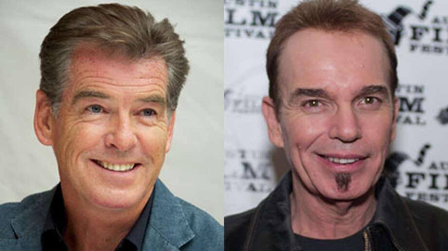 Who's older Pierce Brosnan or Billy Bob Thornton? Photo: Getty