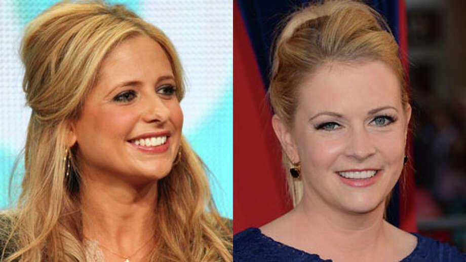 Melissa is 37. Sarah is 36.