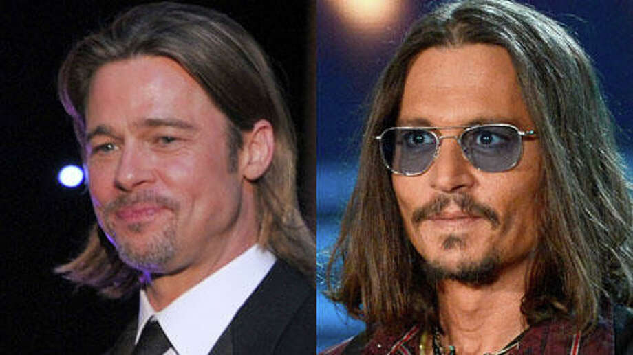 Who's older, Johnny Depp or Brad Pitt? (Kevork Djansezian/Getty and Kevin Winter/Getty)