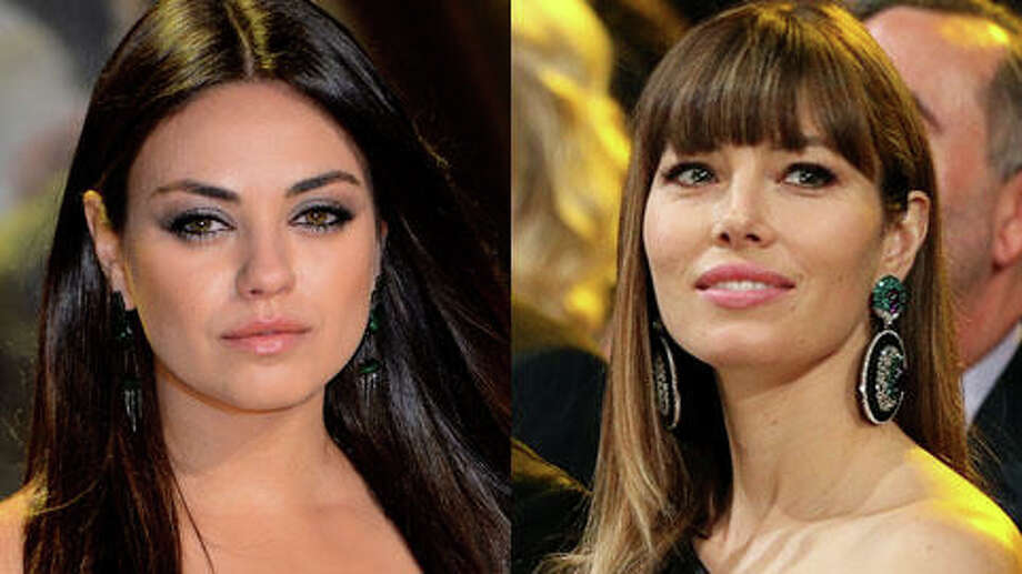Who's older, Jessica Biel or Mila Kunis? (Christopher Polk/Getty and Ian Gavan/Getty)