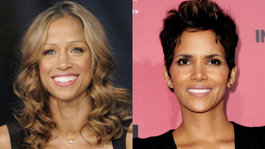 Halle Berry is older. She turns 47 this week, and Stacey Dash is 46.