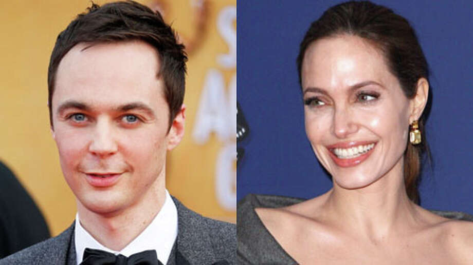 Jim Parsons turned 40 in March. Angelina Jolie turned 38 on June 4.
