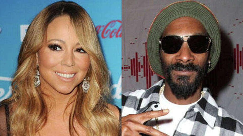 She's older. Mariah's 43, and Snoop is 41.