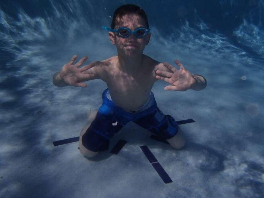 Ryan Dollar of Ballston Lake enjoys sunny Florida during his spring break.  (Jeanne Dollar)