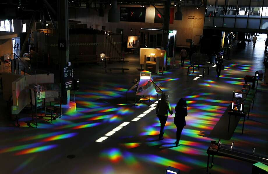 The Exploratorium opened its new waterfront facility at Pier 15 in San Francisco in April. Photo: Paul Chinn, The Chronicle