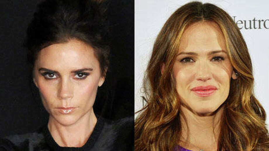 Jennifer Garner is older - she turned 41 on April 17. Victoria Beckham turned 39 on the same day.
