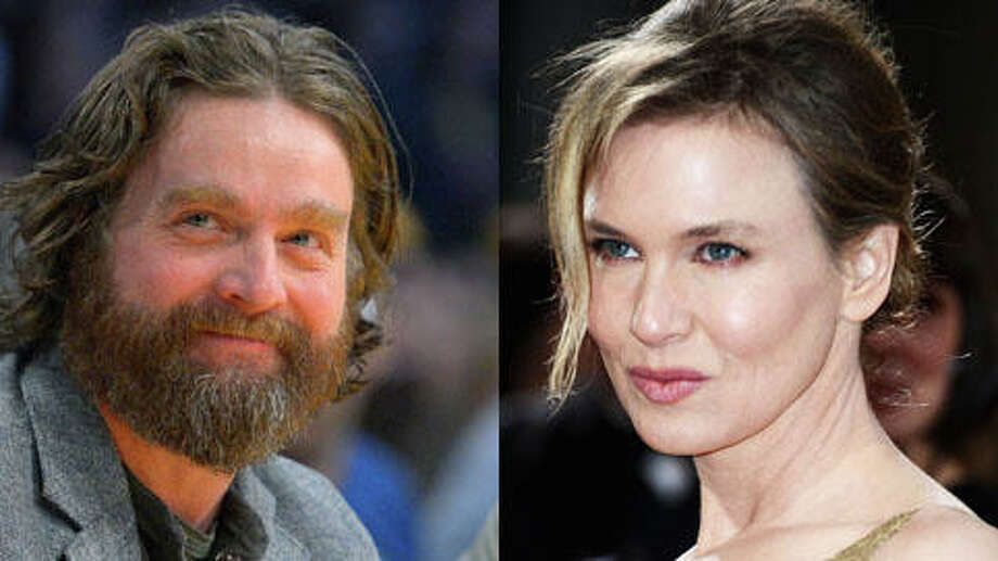 Who's older, Zach Galifianakis or Renee Zellweger? (Mark J. Terrill/AP and Frazer Harrison/Getty)