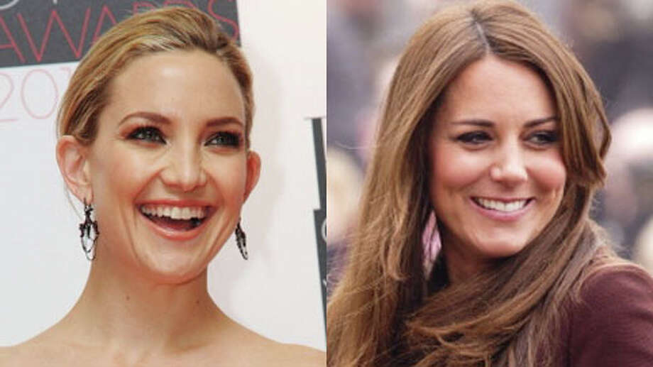 Kate Hudson turned 34 on April 19, while the Duchess of Cambridge turned 31 in January.