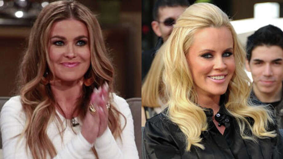 Who's older, Jenny McCarthy or Carmen Electra? (Noel Vasquez/Getty and Bravo)