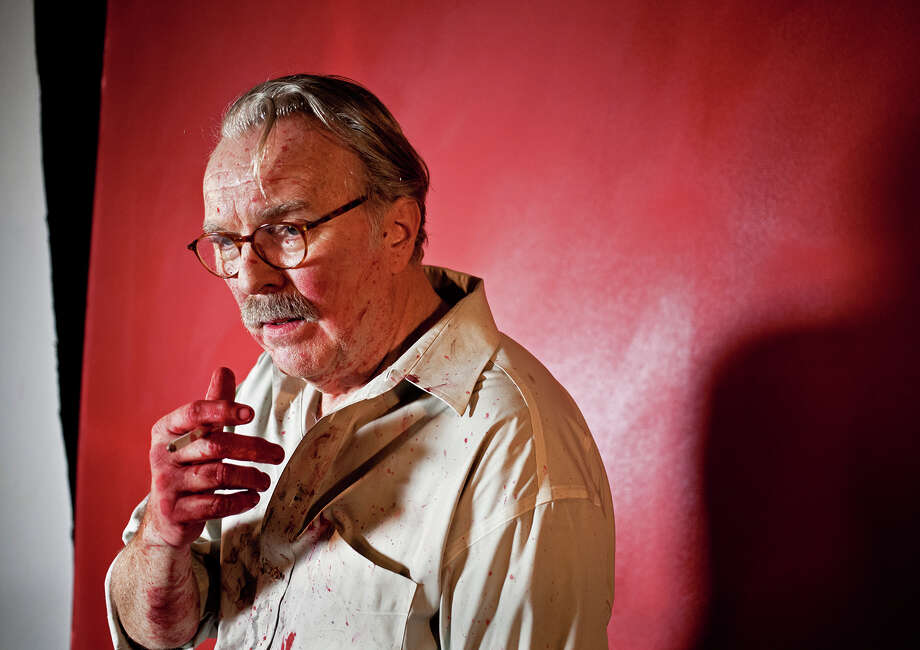 """Kevin McGuire plays Mark Rothko in Capital Repertory Theatre's production of """"Red."""" (Joe Schuyler)"""