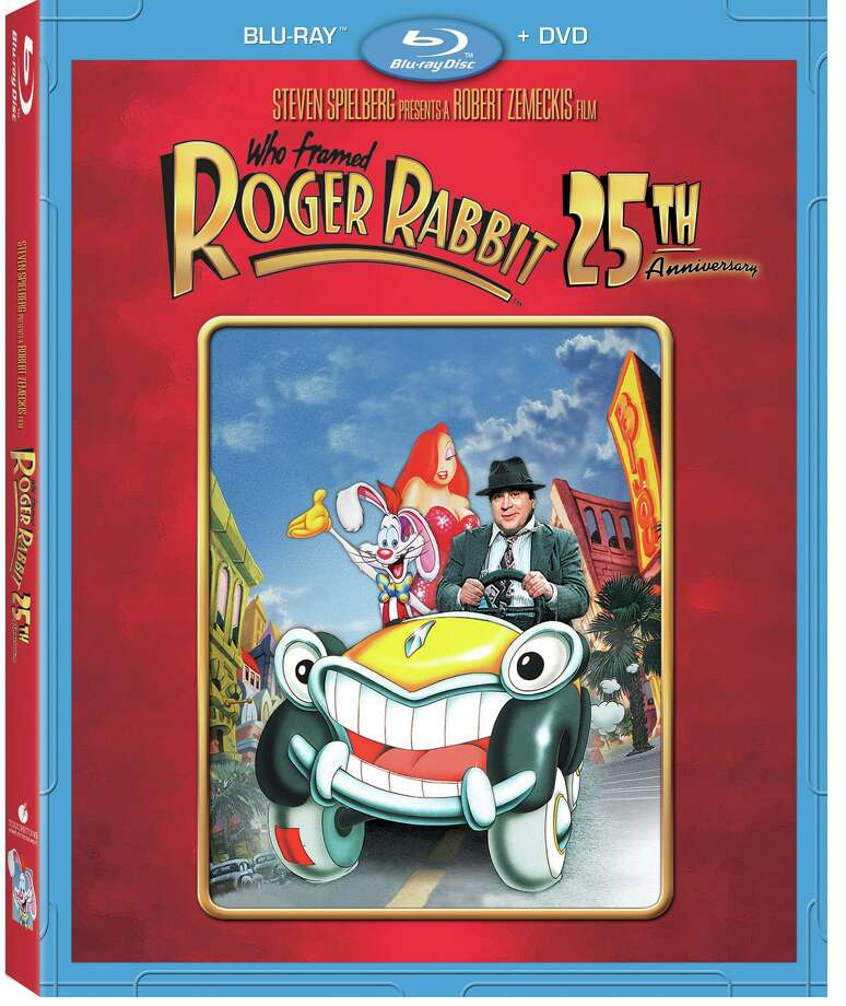 """Who Framed Roger Rabbit"" 25th Anniversary Blu-Ray and DVD"