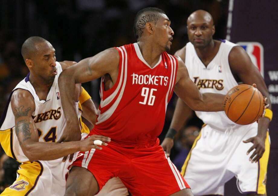 2009 Western Conference semifinalsPlaying without Yao Ming and Tracy McGrady, the undermanned Rockets were the only team to push the eventual champs to seven games. Photo: Nick De La Torre , Chronicle