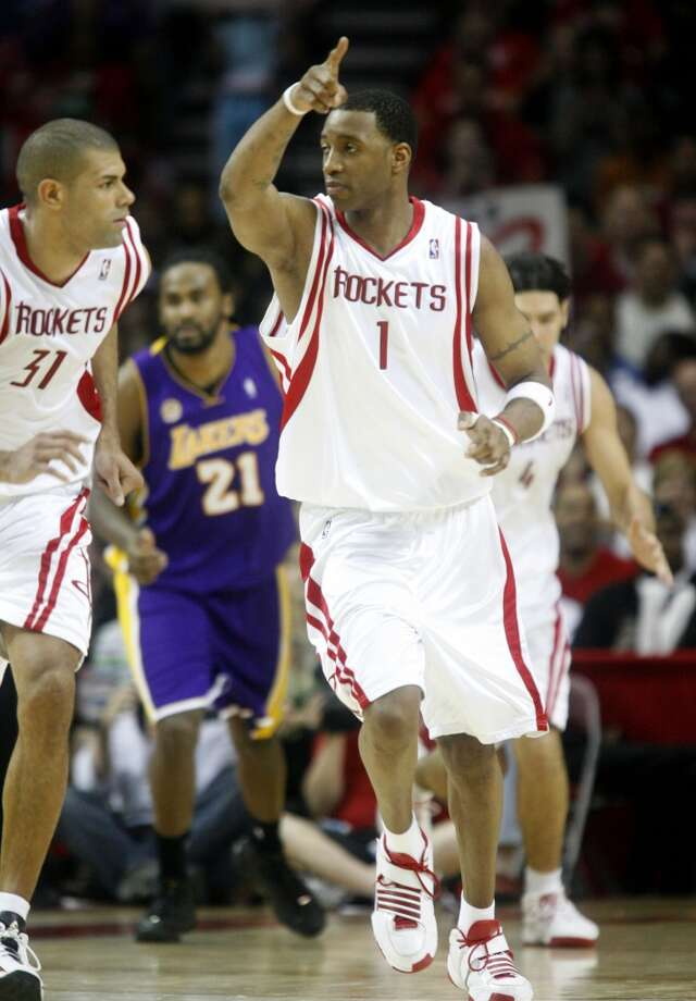 2008: 22-game winning streak Tracy McGrady and Co. pull away late to pick up the final win of their historic streak, which is the third longest winning streak in league history. Photo: Karen Warren , Chronicle