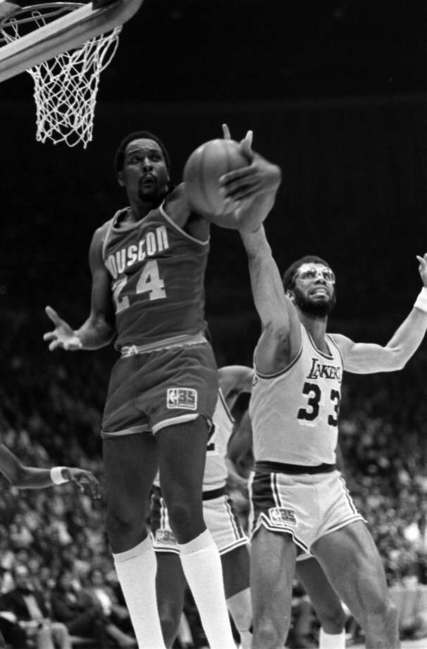 1981 Western Conference playoffs: First round Led by Moses Malone, the sixth-seeded Rockets upended the defending NBA champs in three games (2-1) en route to a Finals appearance. Photo: Associated Press File Photo
