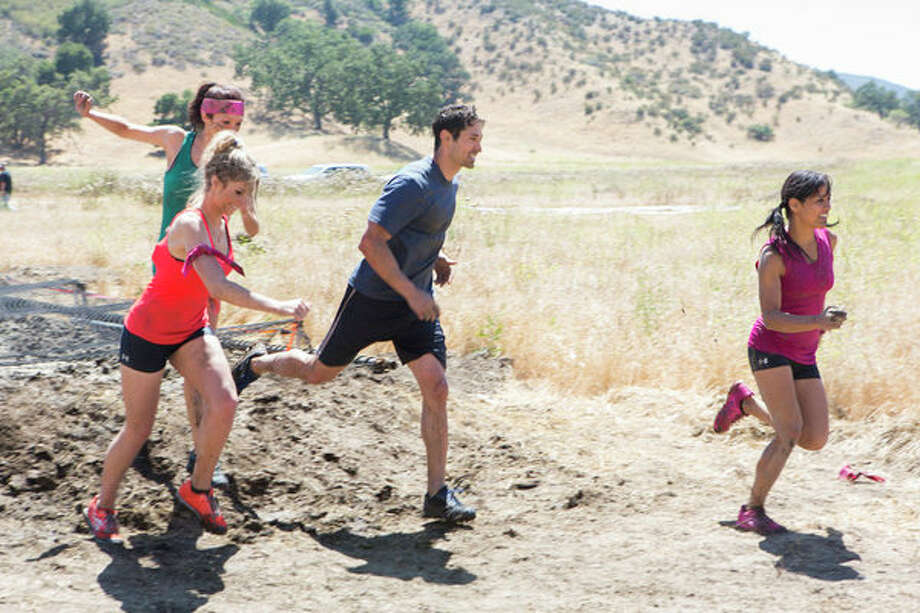 """Ready for Love,"" Episode 2: ""Meet Ben and Ernesto.""  Pictured: (l-r) Tarryn Franco, Katie Coyle, Ben Patton, Renae Virata Photo: NBC, Dale Berman/NBC / 2012 NBCUniversal Media, LLC"
