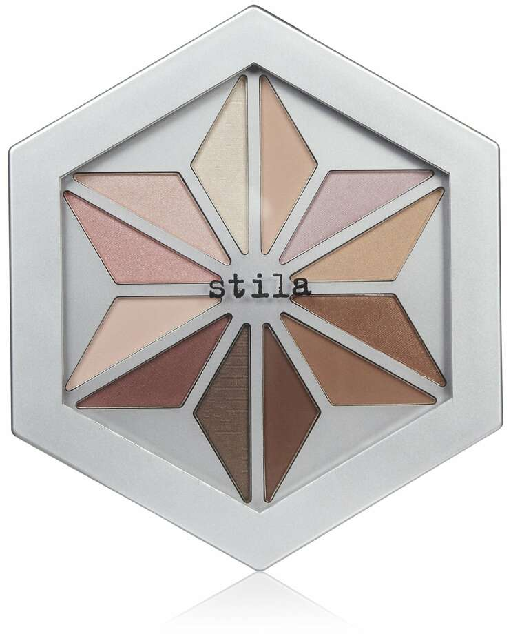 Neutrals are anything but boring when they're packaged in a playful eye palette like Stila's Written in the Stars; $10 at Macy's.