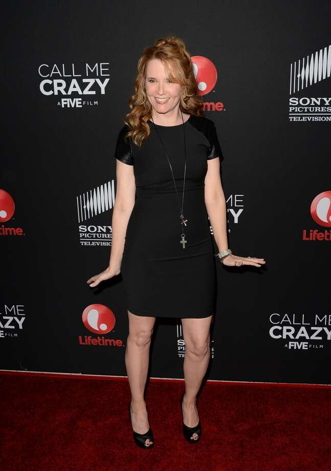 WEST HOLLYWOOD, CA - APRIL 16:  Actress Lea Thompson attends the premiere of Lifetime's 'Call Me Crazy: A Five Film' at Pacific Design Center on April 16, 2013 in West Hollywood, California.  (Photo by Jason Merritt/Getty Images)