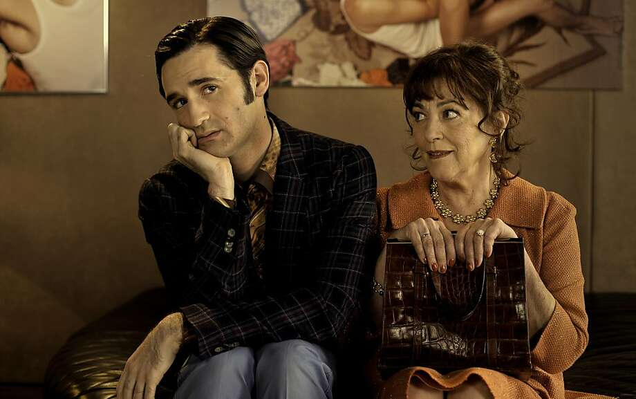 "Nicolas Maury plays Ruben and Carmen Maura is Rachel in ""Let My People Go!"" Photo: Zeitgeist Films"