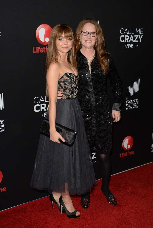 WEST HOLLYWOOD, CA - APRIL 16:  (L-R) Actresses Sarah Hyland and Melissa Leo attend the premiere of Lifetime's 'Call Me Crazy: A Five Film' at Pacific Design Center on April 16, 2013 in West Hollywood, California.  (Photo by Jason Merritt/Getty Images)