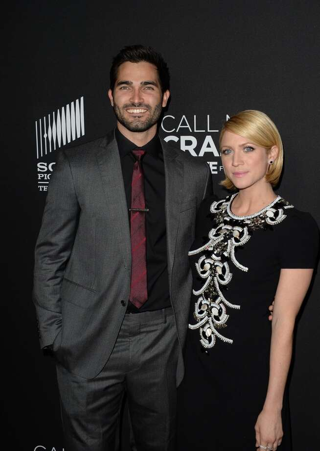 WEST HOLLYWOOD, CA - APRIL 16:  Actors Tyler Hoechlin and Brittany Snow Where attend the premiere of Lifetime's 'Call Me Crazy: A Five Film' at Pacific Design Center on April 16, 2013 in West Hollywood, California.  (Photo by Jason Merritt/Getty Images)