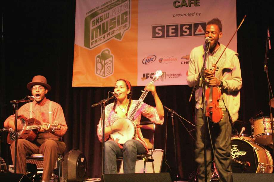 The Carolina Chocolate Drops are updating the  string band tradition.