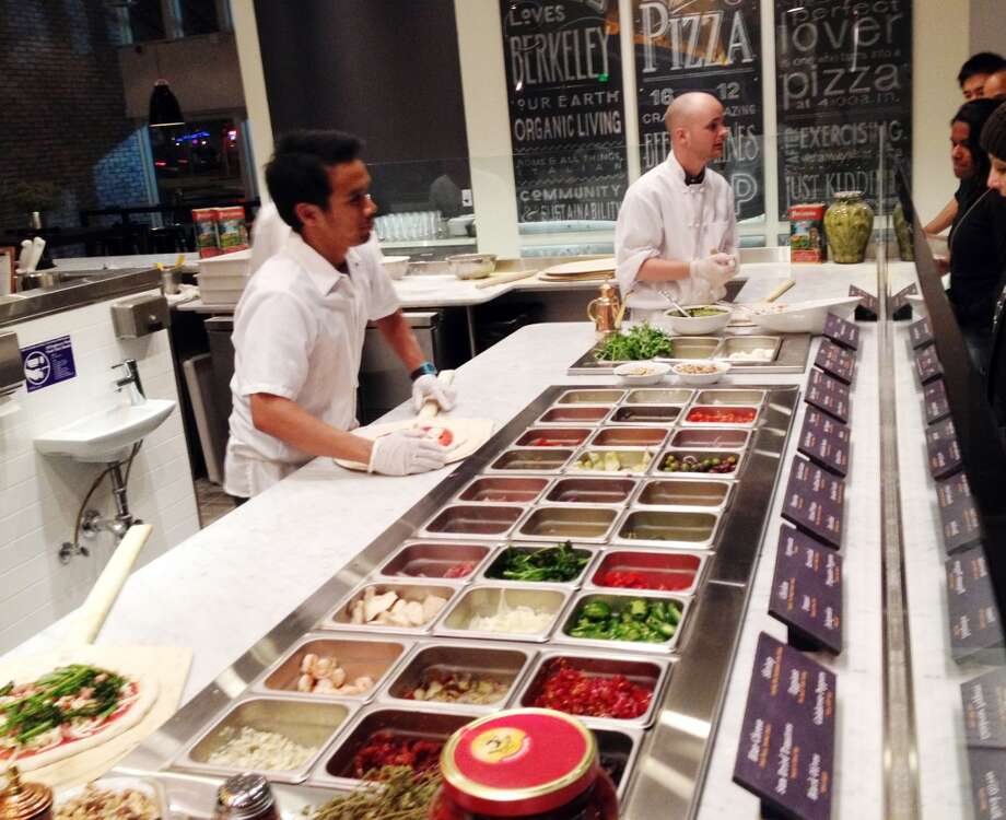The toppings line at Build.