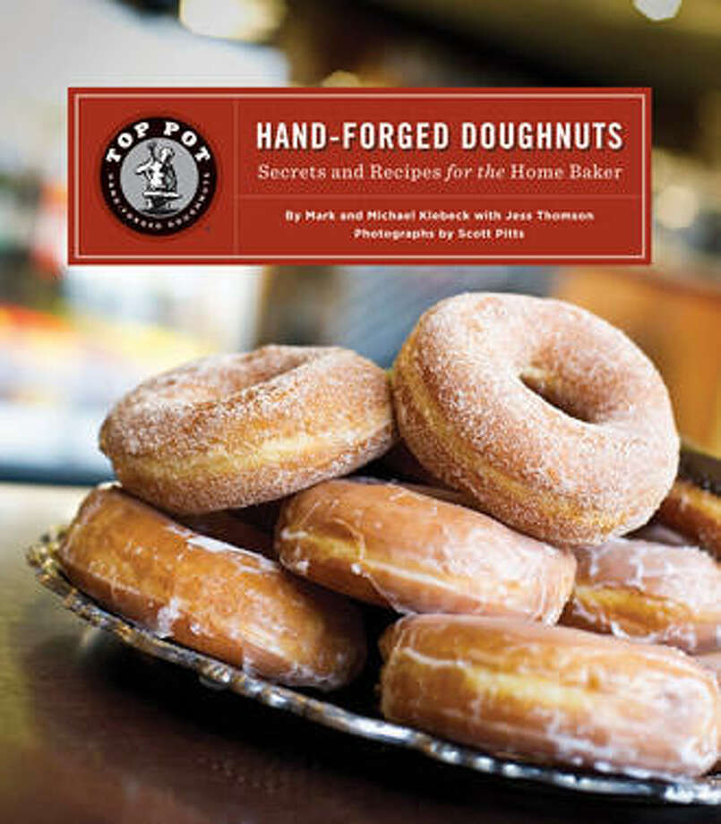 If the many places to get a Top Pot doughnut aren't enough, you can make your own. The company's cookbook is now on its second printing. Photo via Top Pot.