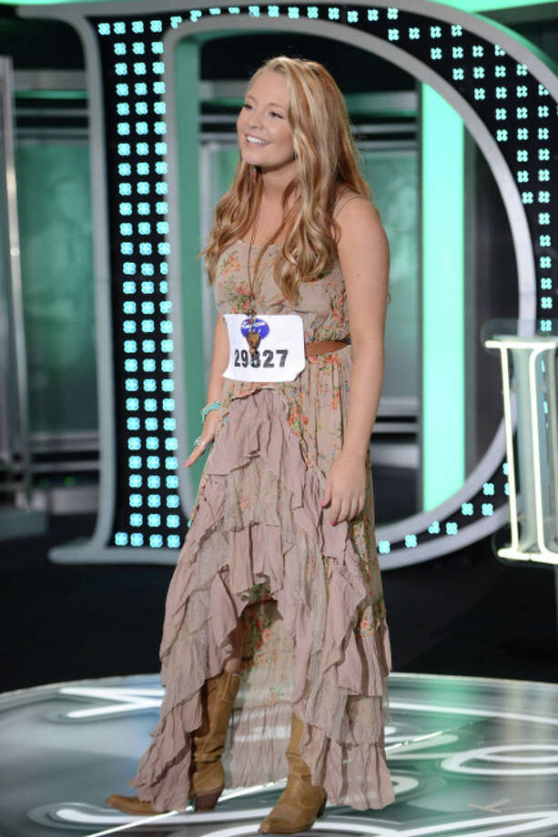 American Idol: Top 40: Janelle Arthur, 23, from Oliver Springs, TN. ©2013 Fox Broadcasting Co. CR: Michael Becker / FOX.