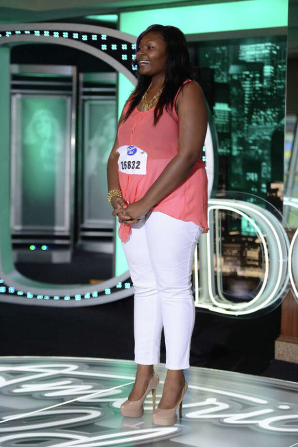 American Idol: Top 40: Candice Glover, 23, from St. Helena Island, SC. ©2013 Fox Broadcasting Co. CR: Michael Becker / FOX.