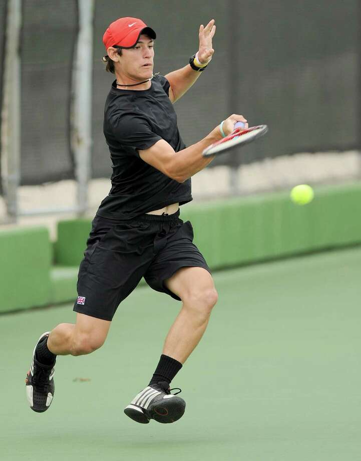 Churchill senior Tito Moreiras is the Express-News boys tennis player of the year. (Darren Abate/For the Express-News) Photo: Darren Abate, Darren Abate/Express-News