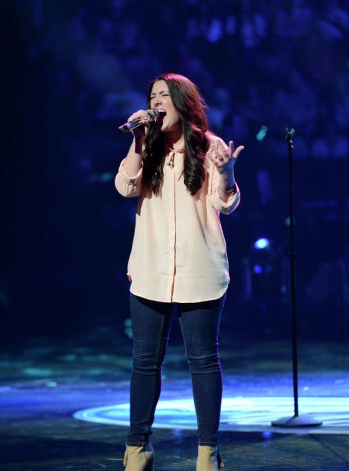 AMERICAN IDOL: Kree Harrison performs in the Sudden Death Round of AMERICAN IDOL airing Wednesday, Feb. 20 (8:00-10:00PM ET/PT) on FOX. CR: Michael Becker / FOX. Copyright / FOX.