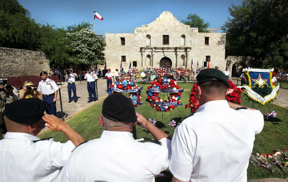 Pilgrimage to the Alamo:Most of Fiesta is fun and games. But the Pilgrimage to the Alamo reminds us what Fiesta is all about. It is a solemn procession where the names of the Alamo defenders are read.