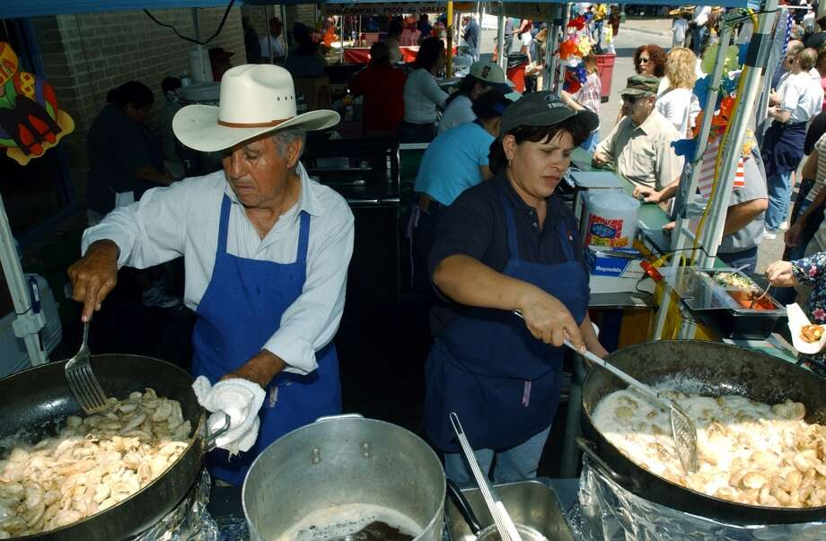 Food continued:The biggest Fiesta cred can be earned by ordering tripa tacos — cow intestines — from a street vendor. Load those bad boys with onions and hot sauce and a splash of lime and you're good to go.
