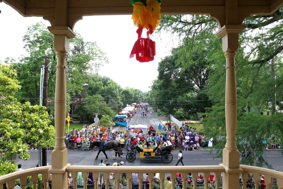 King William Fair: Held on the last weekend of Fiesta, the fair has blossomed into one of the most popular Fiesta events. It is a true neighborhood fair which takes place in the King William historic district just south of downtown.